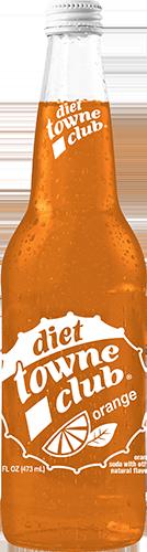 Orange 16oz Diet