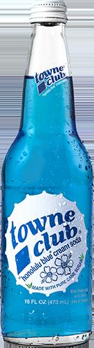 Honolulu Blue Cream Soda 16oz
